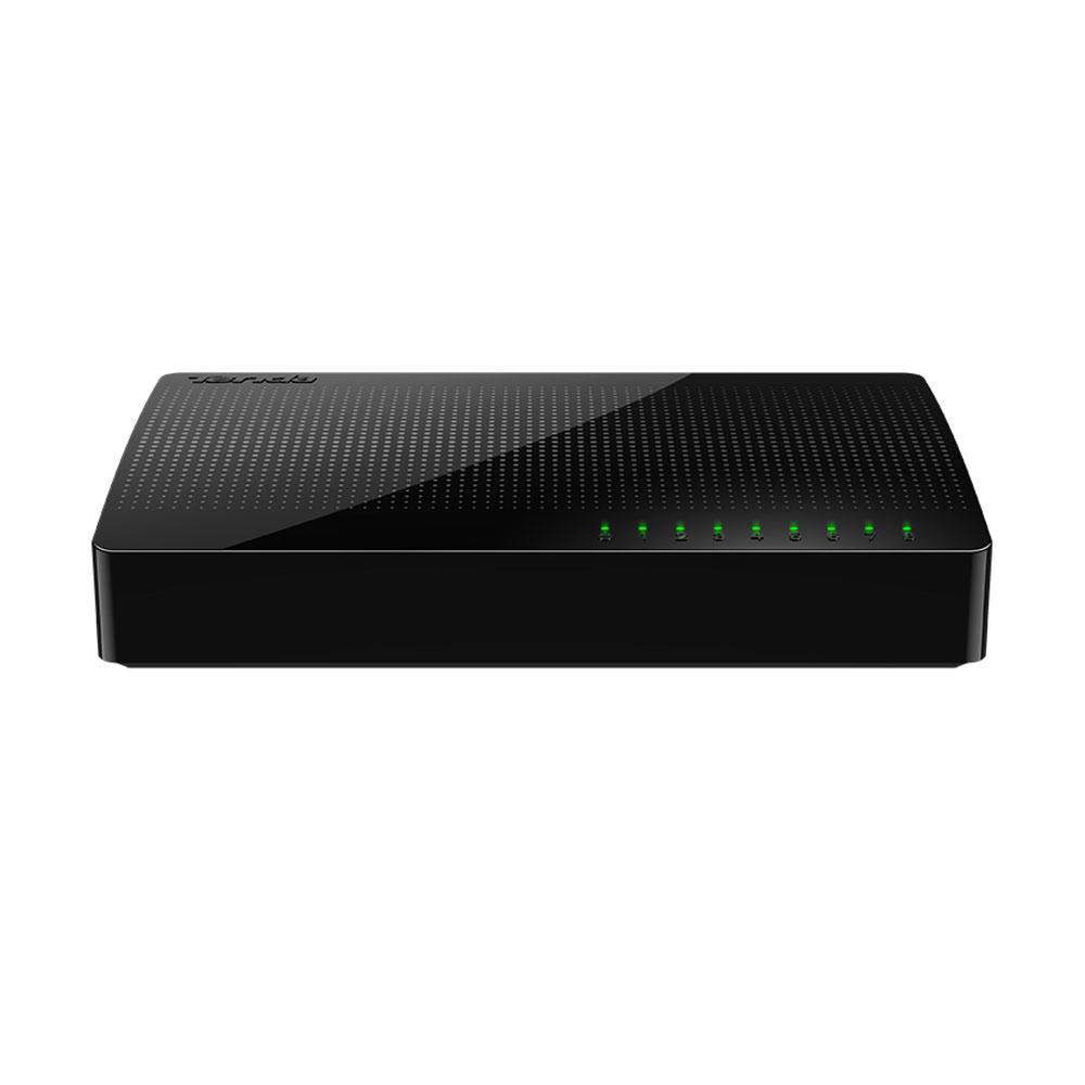 Switch cu 8 porturi Tenda SG108, 16 Gbps, 12 Mpps, 4.000 MAC, fara management