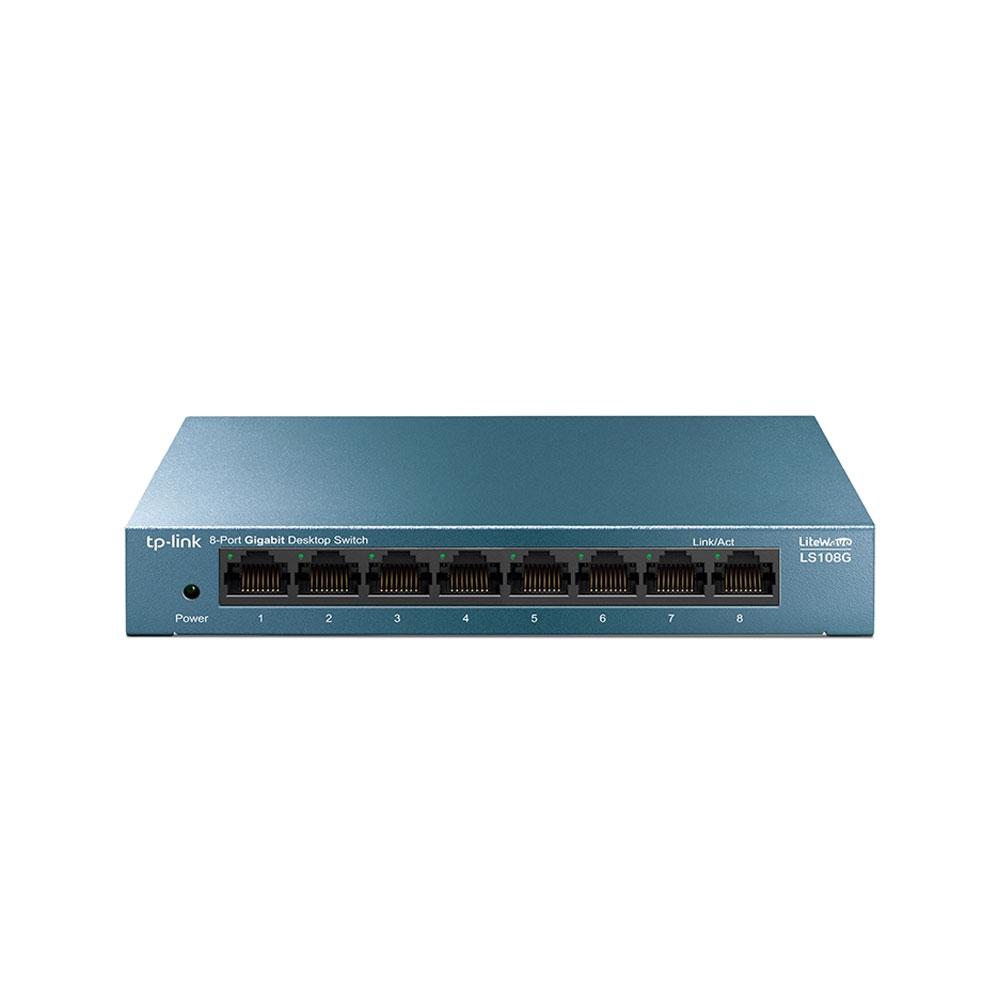 Switch cu 8 porturi TP-Link LS108G, 4000 MAC, 16 Gbps imagine
