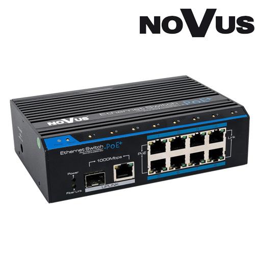 SWITCH CU POE NOVUS NVS-810S/P+