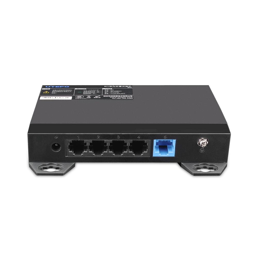 Switch ethernet SF5, 5 porturi, 1Gbps,