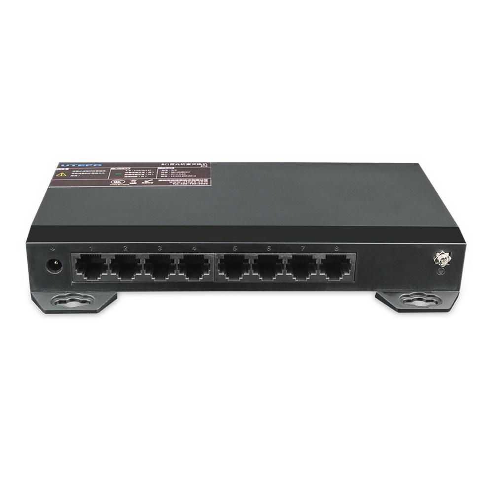 Switch ethernet SF8, 8 porturi, 1.8Gbps, imagine spy-shop.ro 2021