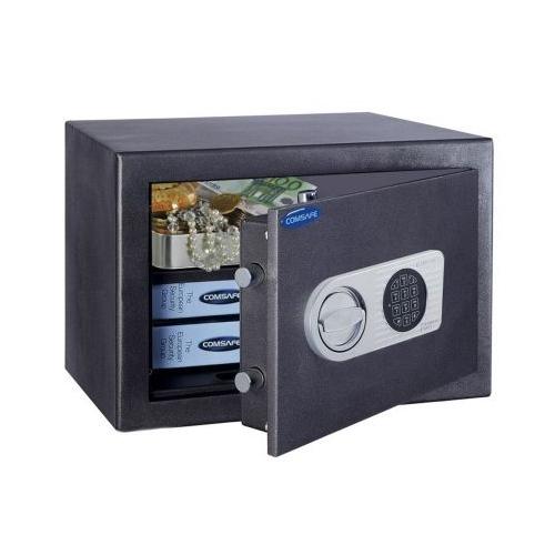 Seif antiefractie cu cifru electronic ROTTNER TOSCANA40 T04677, 38 Kg imagine spy-shop.ro 2021