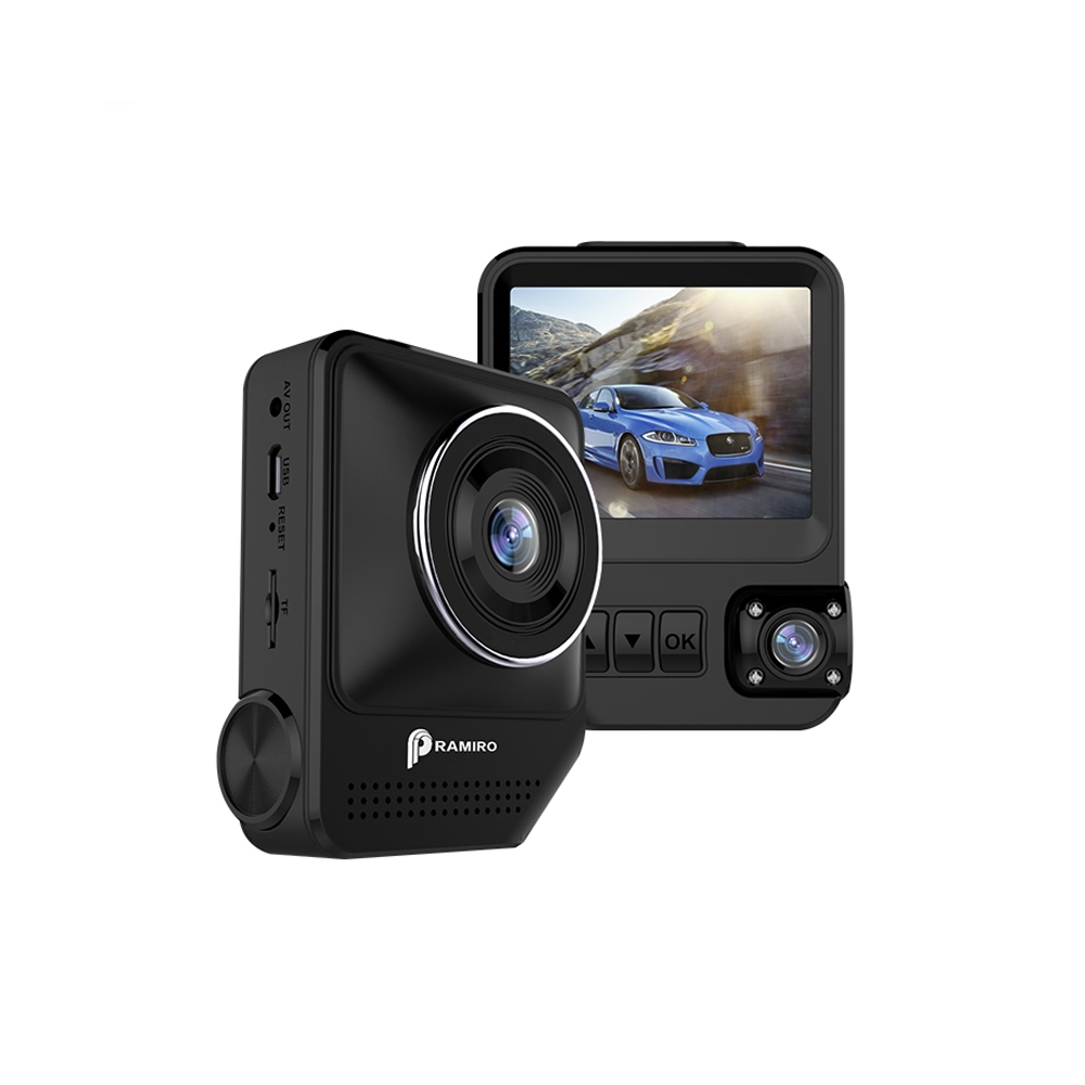 Camera auto duala pentru masina cu DVR T818, Full HD, 12MP, 30 FPS imagine spy-shop.ro 2021