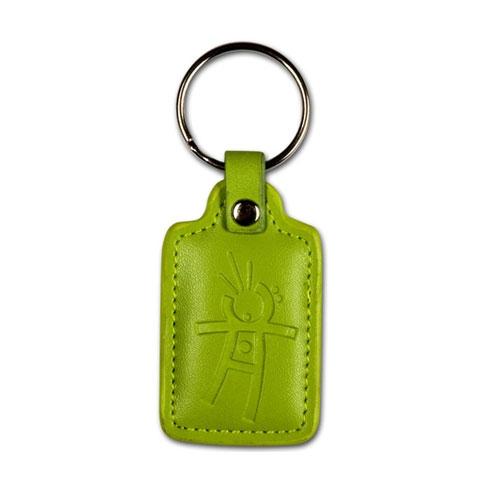 Tag de proximitate in piele verde Jablatron PC-04G, 125 KHz imagine spy-shop.ro 2021
