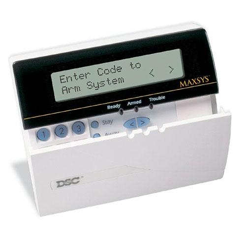 TASTATURA LCD DSC MAXSYS LCD 6501