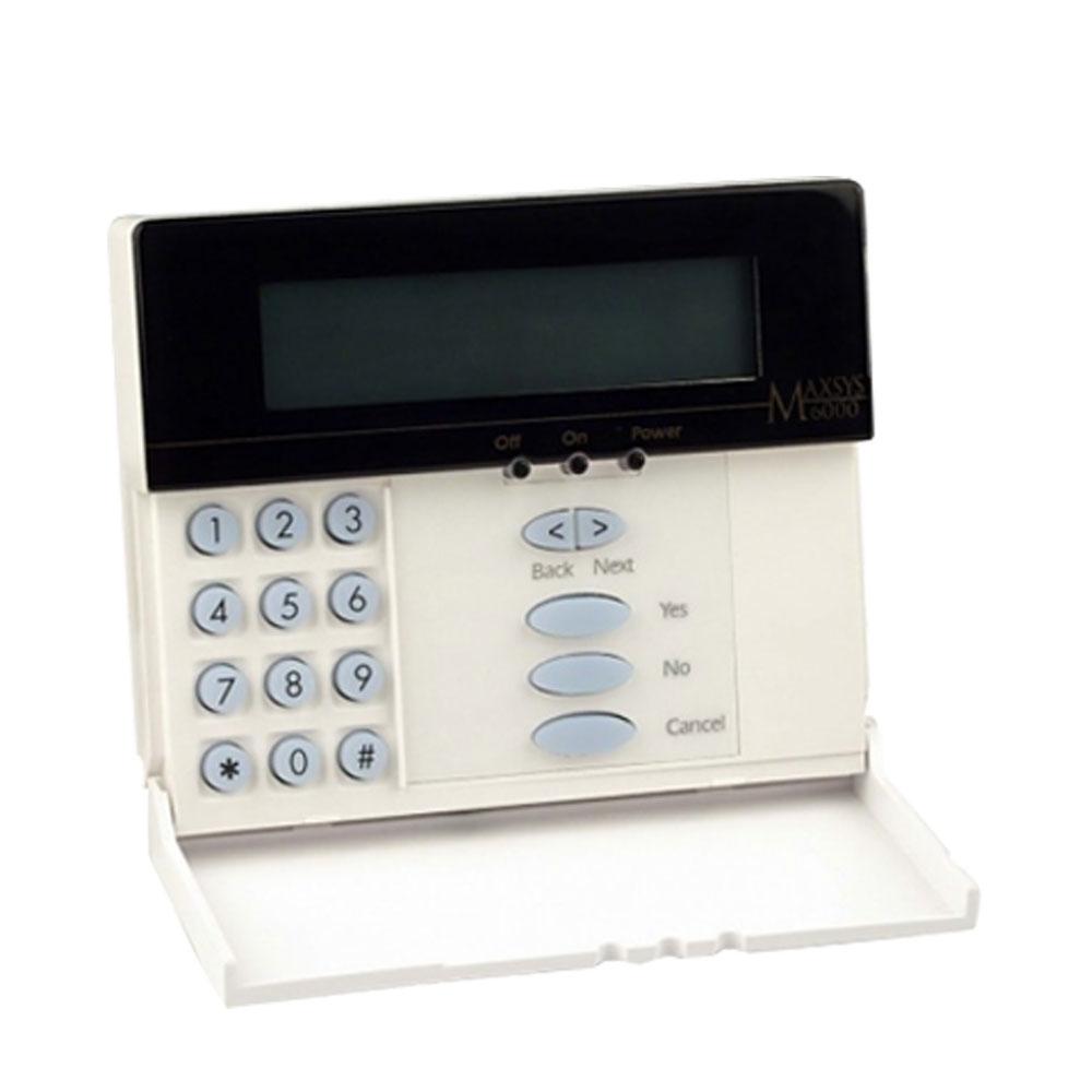 Tastatură LCD DSC MAXSYS 6501, 256 zone, buzzer, 3000 evenimente imagine