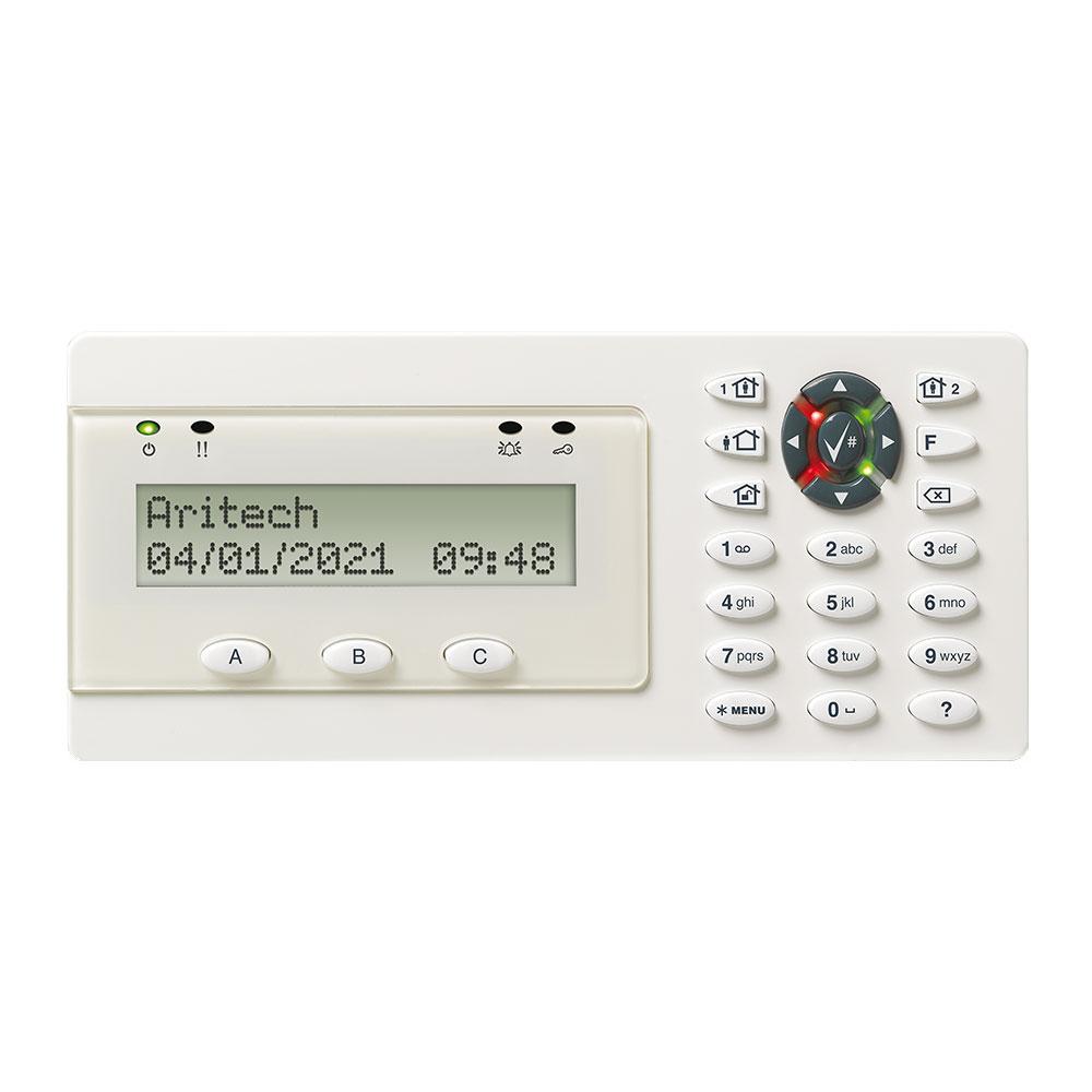 Tastatura LCD cu cititor de proximitate UTC Advisor Advanced ATS1135, 3 butoane functionale, intrare/iesire, IP30