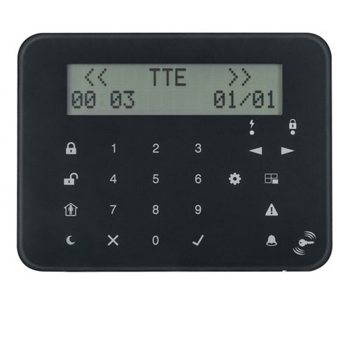 TASTATURA LCD CU TASTE SENZITIVE TELETEK ECLIPSE LCD32 S imagine spy-shop.ro 2021