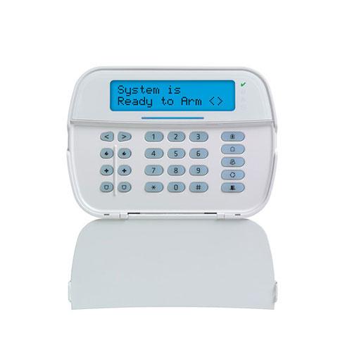 Tastatura LCD cu cititor de proximitate DSC NEO HS2ICONPS, 128 zone, 5 taste programabile, 1 intrare/iesire imagine