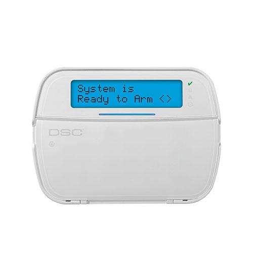 Tastatura LCD wireless cu cititor de proximitate DSC NEO HS2ICONRFP8S, 128 zone, 5 taste programabile imagine