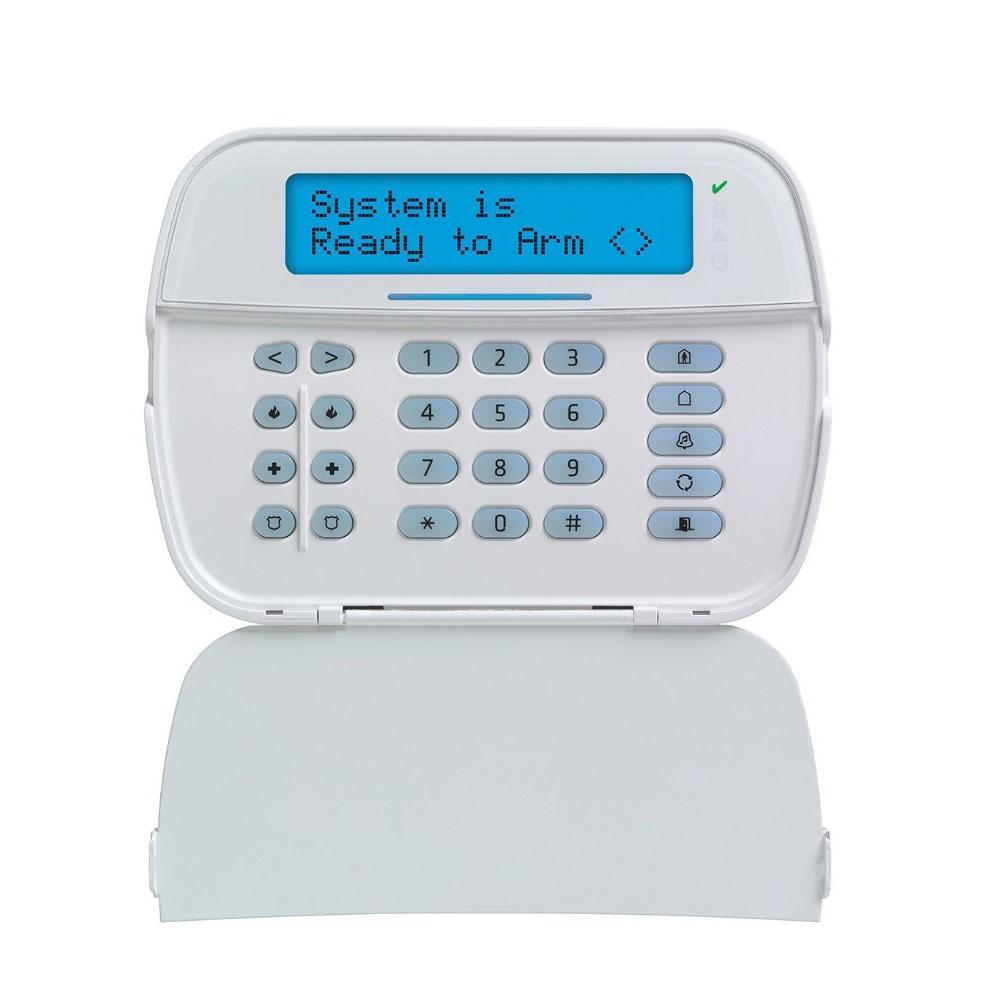 Tastatura LCD cu modul wireless PRO-HS2LCDRF, 128 zone, 5 taste programabile, 1 terminal programabil imagine
