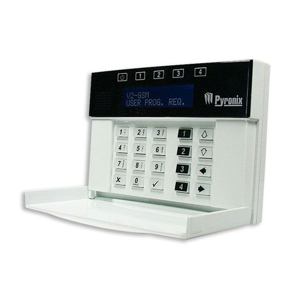 Tastatura LCD Pyronix MX-LCD, 32 zone imagine spy-shop.ro 2021