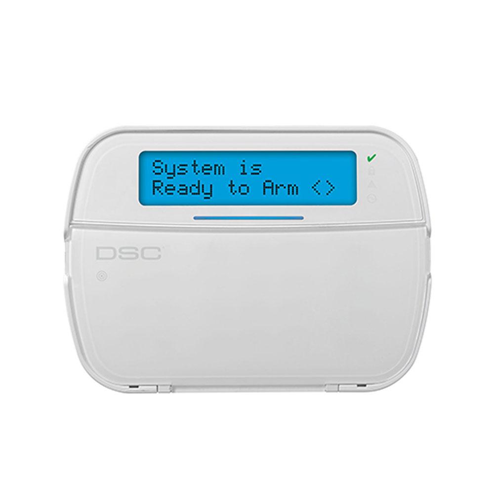 Tastatura LCD cu modul wireless NEO HS2LCDRF, 128 zone, 5 taste programabile, 1 terminal programabil imagine