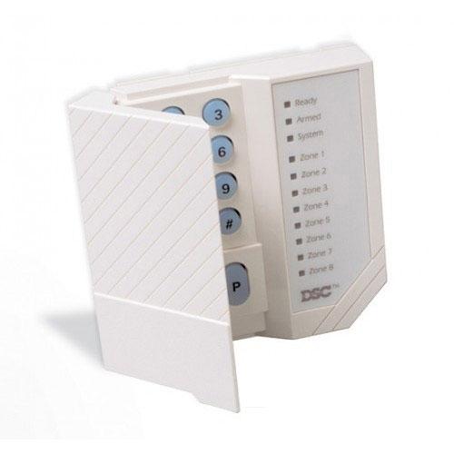 Tastatura LED DSC PC 1555 RK, 1 zona programabila