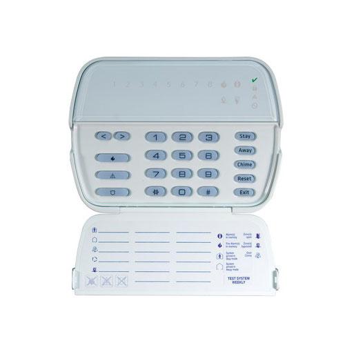 Tastatura LED DSC PK5508, 8 zone, 5 taste programabile imagine spy-shop.ro 2021