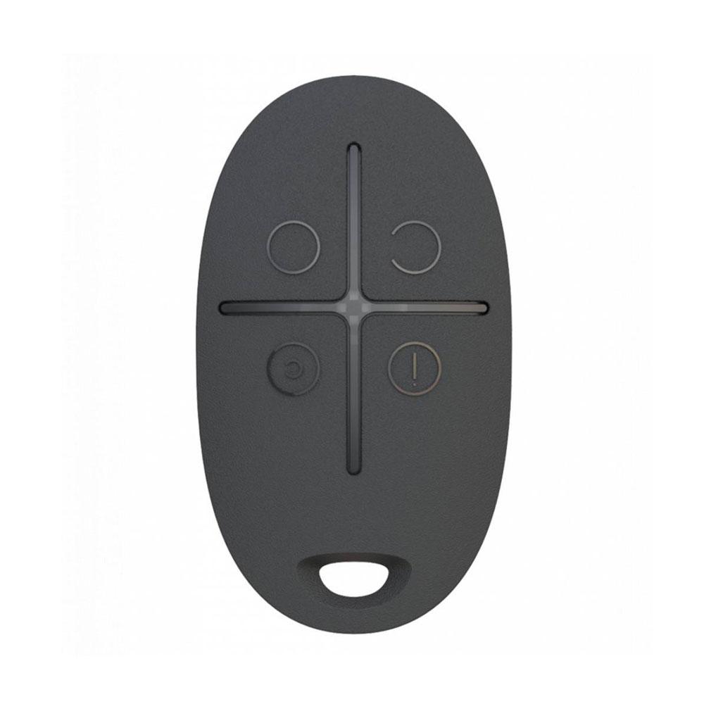 Telecomanda AJAX SpaceControl BL, 4 butoane, buton de panica, 1300 m imagine spy-shop.ro 2021