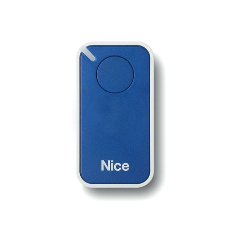 Telecomanda Nice INTI1B, 1 canal, 433.92 MHz, albastru imagine