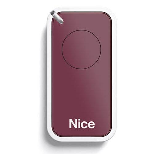 Telecomanda Nice INTI1R, 1 canal, 433.92 MHz, rosu imagine