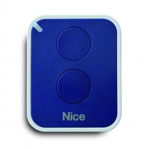 Telecomanda Nice ONE2EFM, 2 canale, 868.46 MHz, albastru