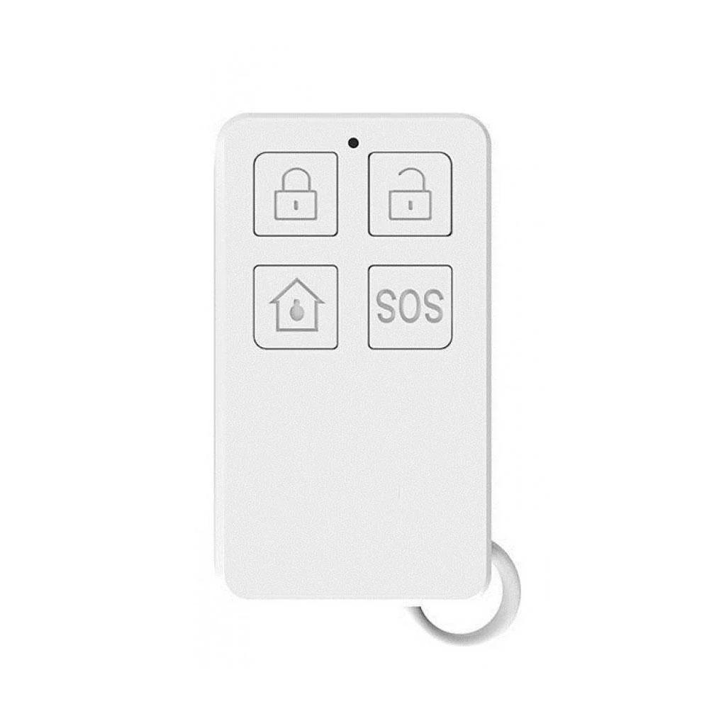 Telecomanda wireless cu 4 butoane DinsafeR DYK01O, LED, 200 m imagine spy-shop.ro 2021