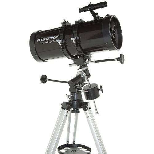 Telescop reflector Celestron Powerseeker 127EQ 21049 imagine spy-shop.ro 2021