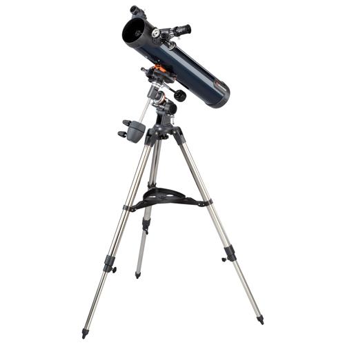 Telescop reflector Celestron Astromaster 76EQ 31035 imagine spy-shop.ro 2021