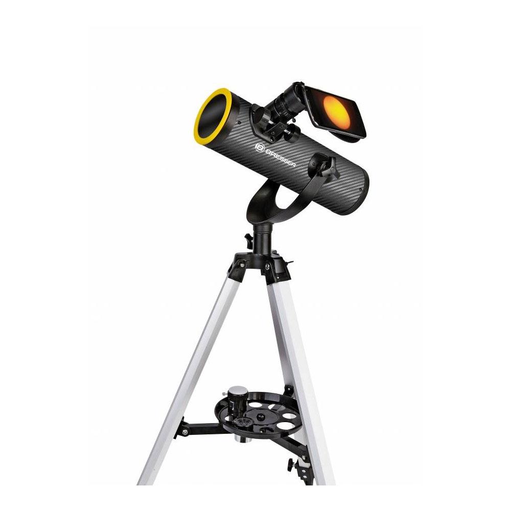 TELESCOP REFLECTOR CU FILTRU SOLAR BRESSER SOLARIX 76/350