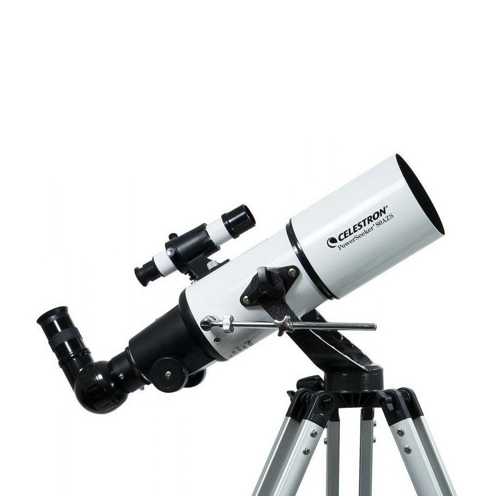 Telescop refractor acromat Celestron Powerseeker 80AZS 21087-B-DS imagine spy-shop.ro 2021