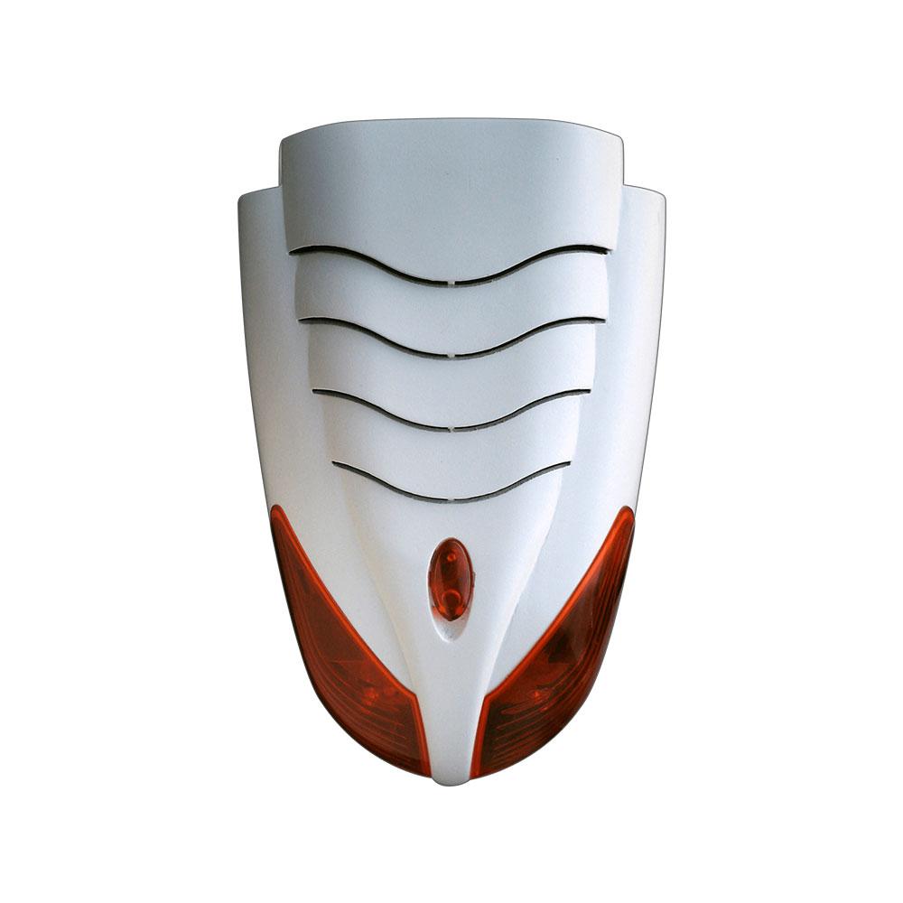 Sirena de exterior cu flash Teletek SR200, 120 dB, IP54, IK08 imagine spy-shop.ro 2021