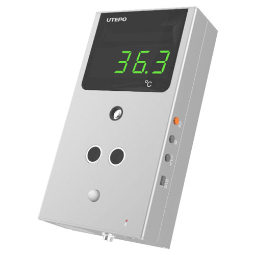 Terminal masurare temperatura non-contact TS1206, senzor imagine termica, distanta citire 30 - 60 cm, precizie 0.3 grade imagine spy-shop.ro 2021