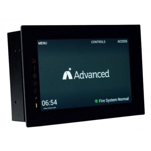 Terminal touch-screen Advanced TOUCH-10/FT, tolerant , 1000 evenimente, 500 incendii imagine spy-shop.ro 2021