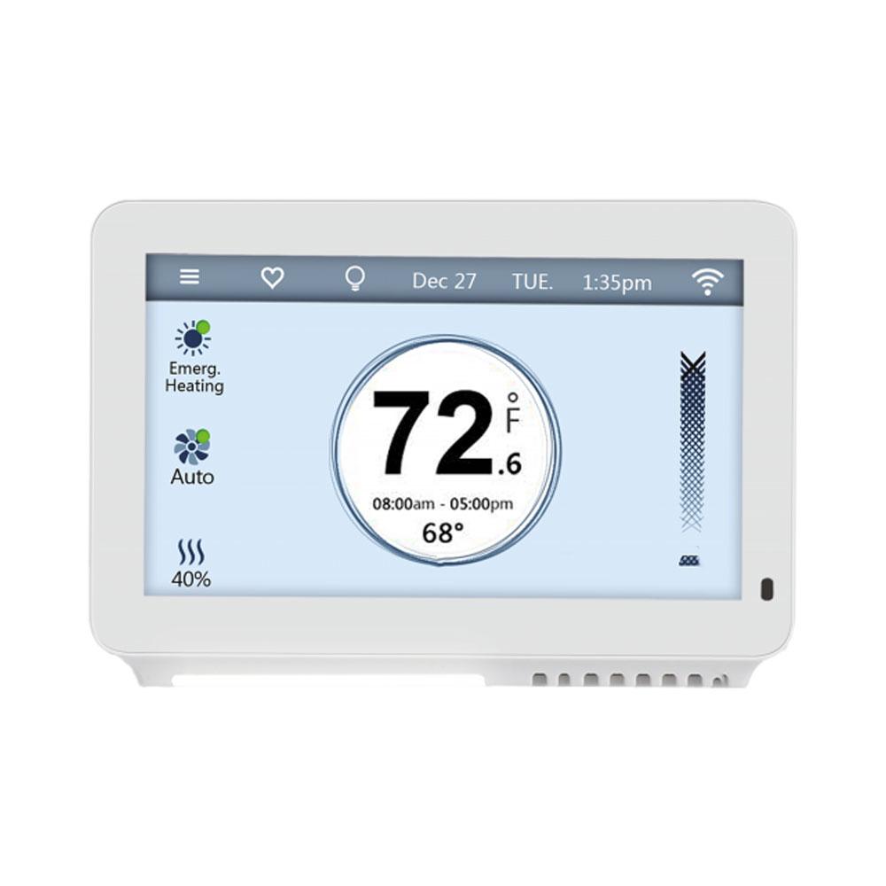 Termostat ambiental multifunctional WiFi TJ-919W, LCD 4.5 inch, RF 30 m, 5 V imagine spy-shop.ro 2021