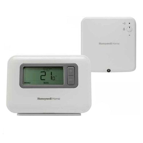 Termostat digital wireless programabil Honeywell Y3H710RF0072, Fuzzy logic, IP30, 30 m imagine spy-shop.ro 2021