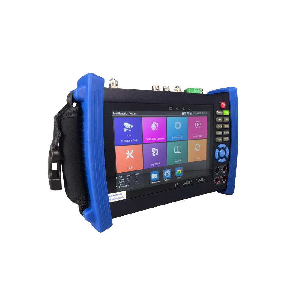 Tester CCTV profesional AY-TC1086IP-MOVTIP-P, ecran tactil 7 inch, 4K, WiFi, control PTZ, multimetru digital