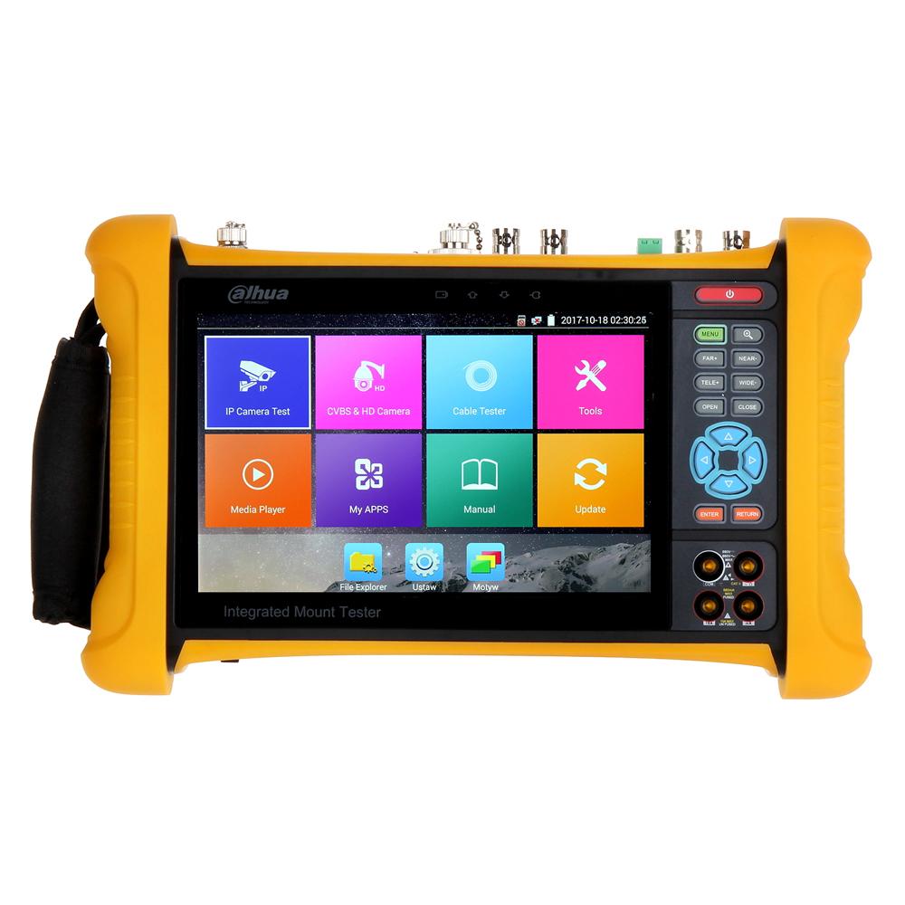 Tester CCTV profesional Dahua PFM906, 7 inch, WiFi, 8 GB, HDCVI/AHD/TVI/CVBS/IP imagine spy-shop.ro 2021