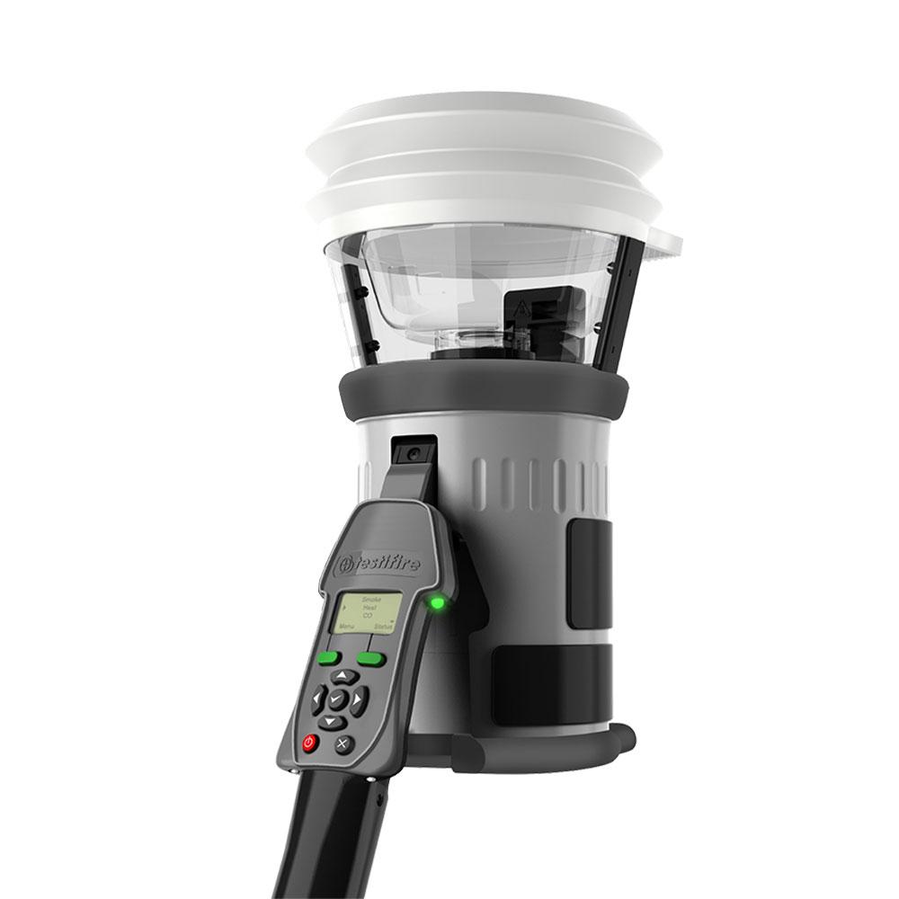 Tester detectori de fum/temperatura/CO TESTIFIRE 2000-001, interfata programabila, testare multisenzor, 1 capsula fum, 1 capsula CO imagine spy-shop.ro 2021