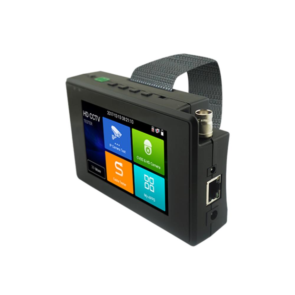 Tester CCTV profesional de mana T-1800ADH+, ecran tactil 4 inch, 4k, 1 canal imagine