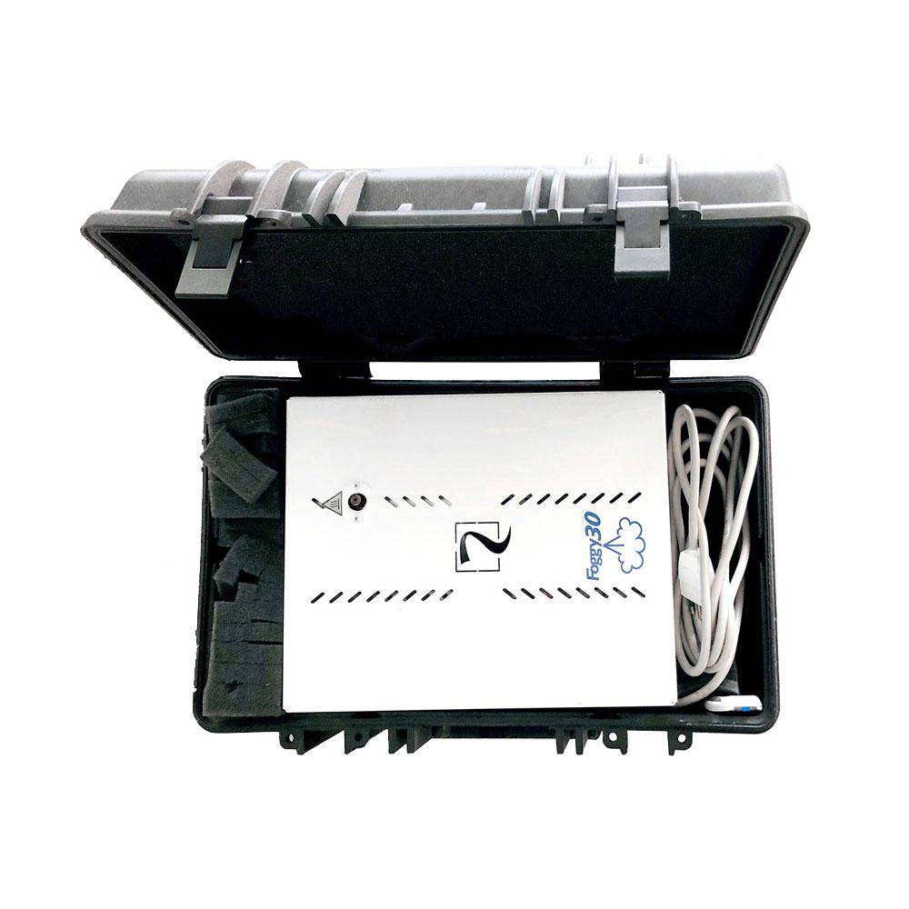Troller de transport AVS FDEMO, plastic, IP65, FOGGY 50W