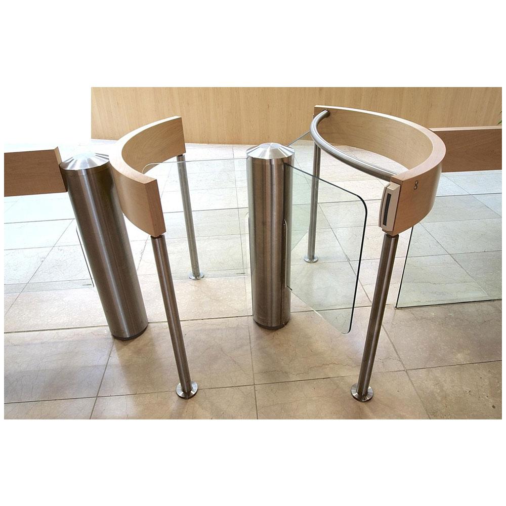 Turnichet rotativ Gunnebo 5001000006 GLASS STILE R, 24 V, otel inoxidabil