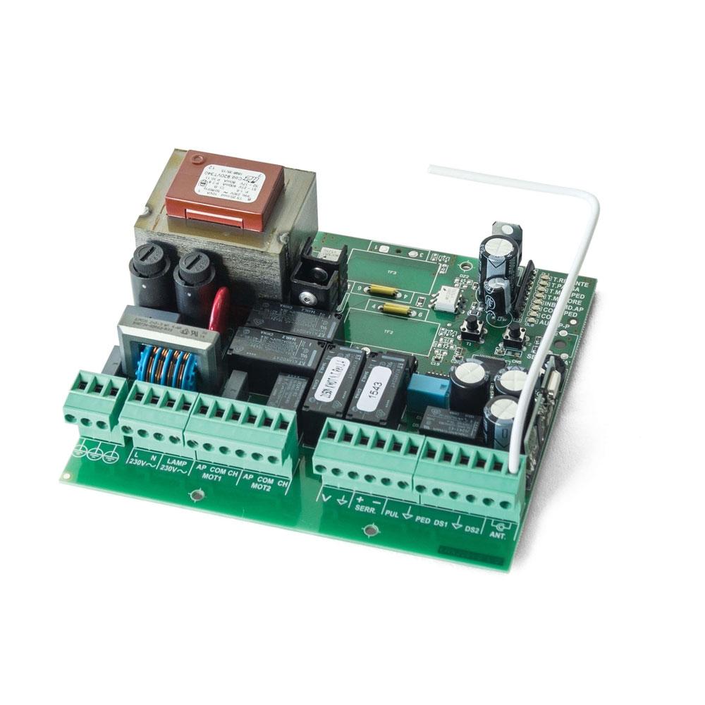 Unitate de comanda pentru poarta batanta Motorline MC2, 230 Vac, IP 56, 433.92 MHz