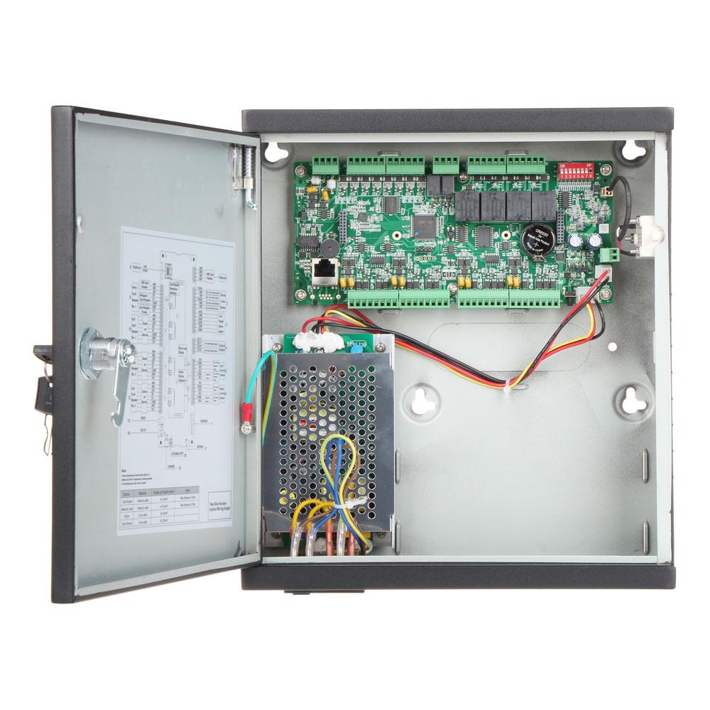 Unitate de control acces IP Dahua ASC1202C-D, PIN/card, amprenta, 100.000 carduri, 150.000 evenimente