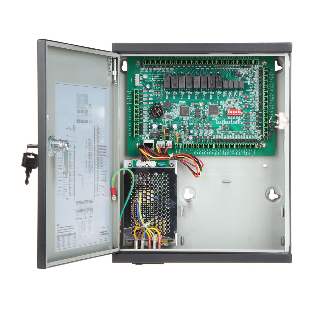 Unitate de control acces IP Dahua ASC1204C-D, PIN/card, amprenta, 100.000 carduri, 150.000 evenimente imagine spy-shop.ro 2021