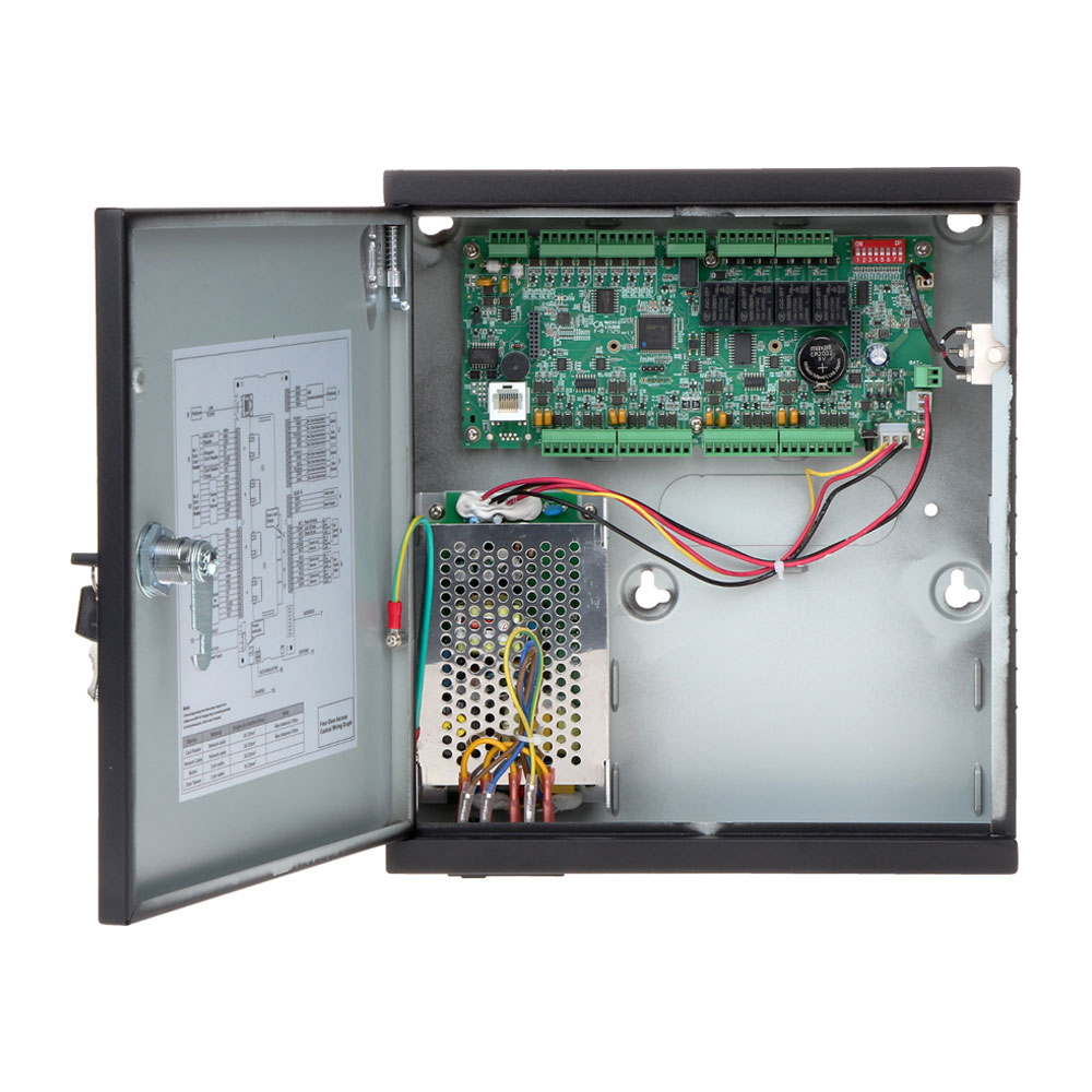 Unitate de control acces IP Dahua ASC1204C-S, PIN/card, amprenta, 100.000 carduri, 150.000 evenimente imagine spy-shop.ro 2021