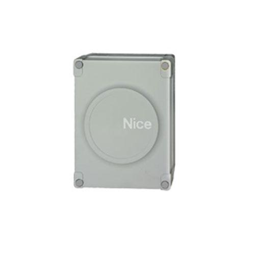 Unitate de control automatizare porti batante Nice MC824HR10, 230 VAC, IP 54