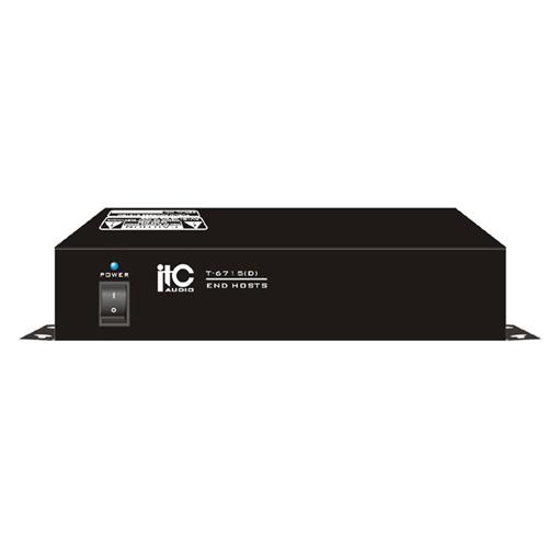 Unitate de control ip intercom ITC T-6715(D), 210 W, 2 W, 8 panouri imagine spy-shop.ro 2021