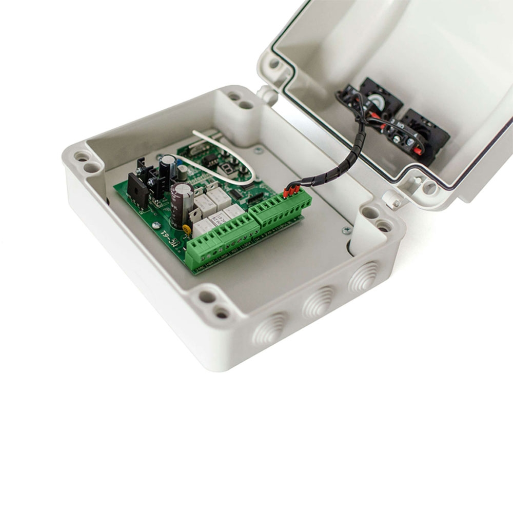 Unitate de control Motorline MC61PL, 433.92 Mhz, cod saritor, 230 Vac imagine spy-shop.ro 2021