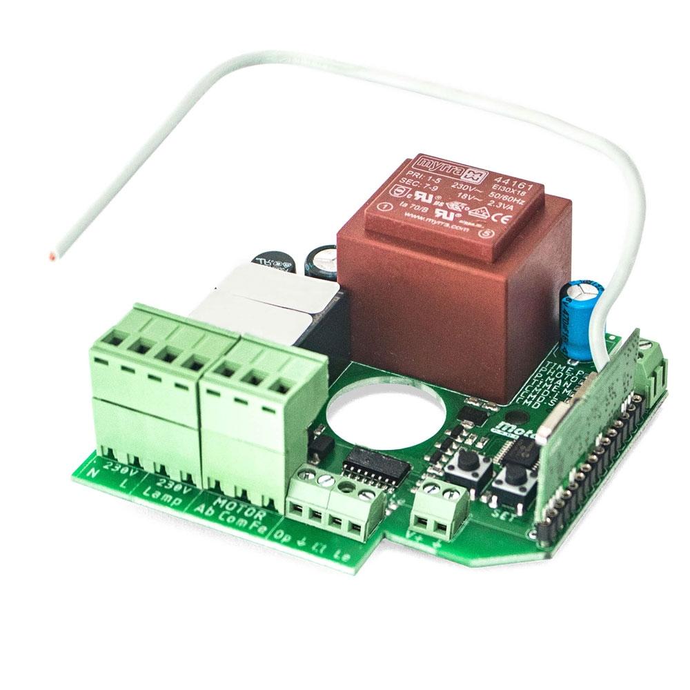 Unitate de control Motorline MC65IP, 230 Vac, 30 coduri, 433.92 MHz