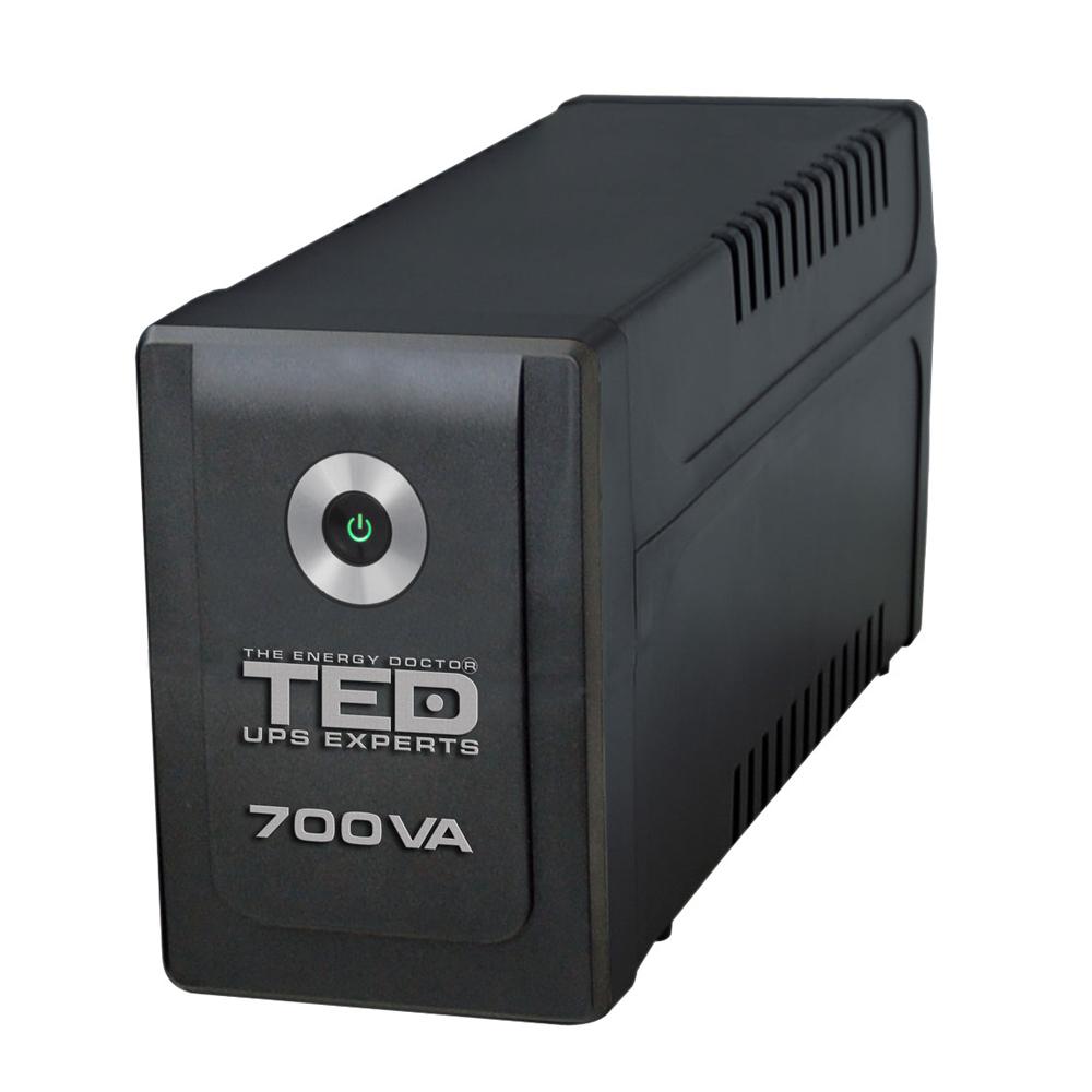 UPS cu 2 prize TED A0061427, 700VA, 400 W, LED