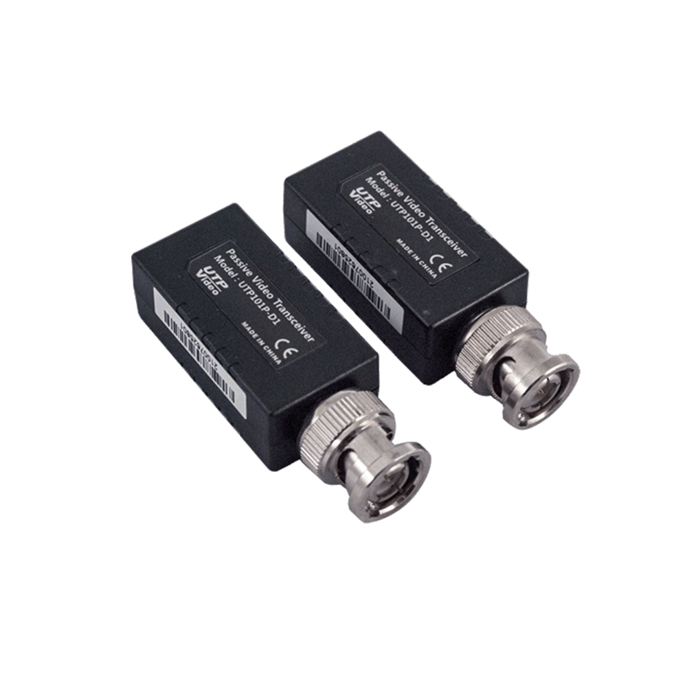 Video balun HD pasiv UTP101P-HD1, mufa BNC,100 ohm , ABS, pret/pereche imagine spy-shop.ro 2021