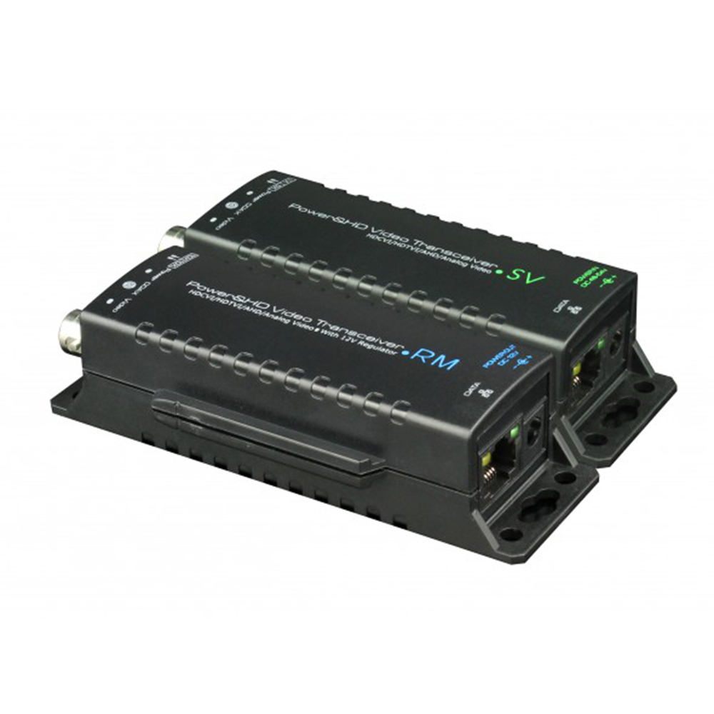 Video balun HD UTP101PV-HD5 activ, 1 canal video, imagine spy-shop.ro 2021